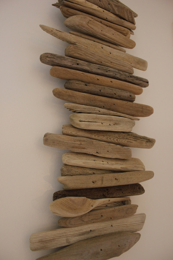 cabin kitchen decor commercial trash can driftwood wall art maine sculpture | ...