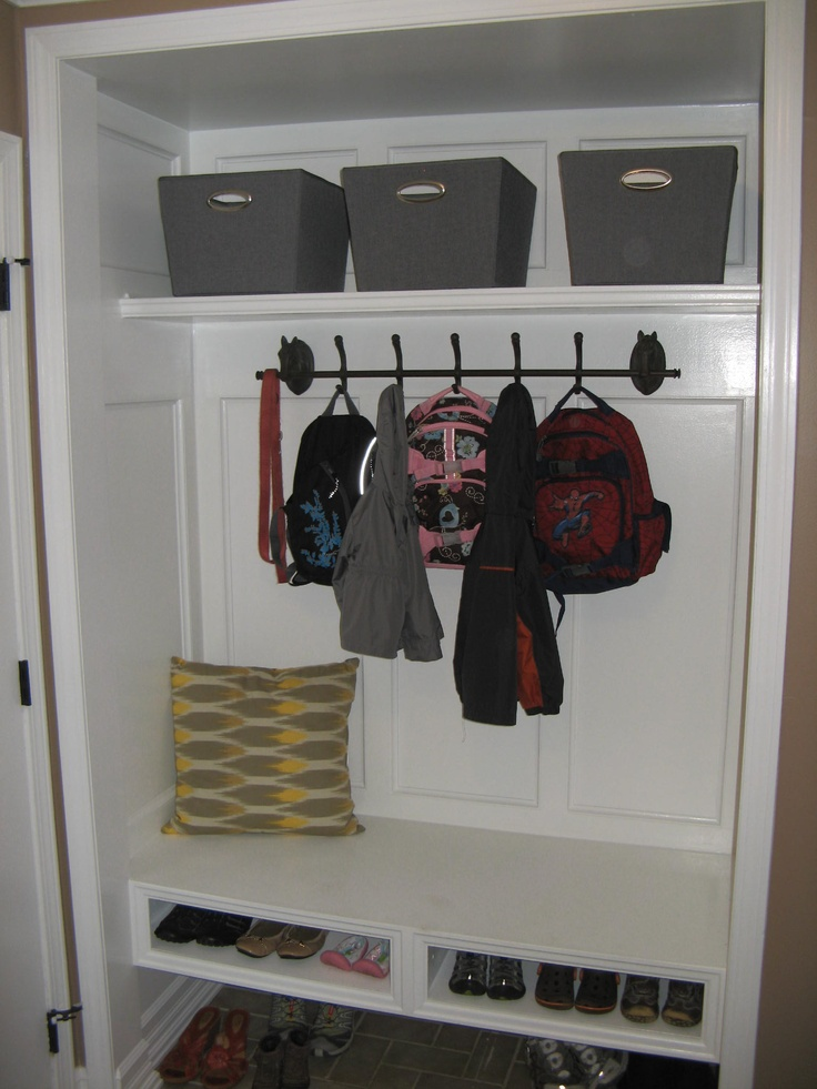 1000 Images About Coat Closet To Lockers On Pinterest