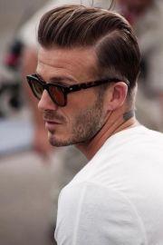 undercut slicked men's haircut