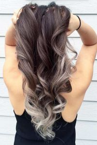 Best 25 Silver Ombre Hair Ideas On Pinterest Silver Ombre ...