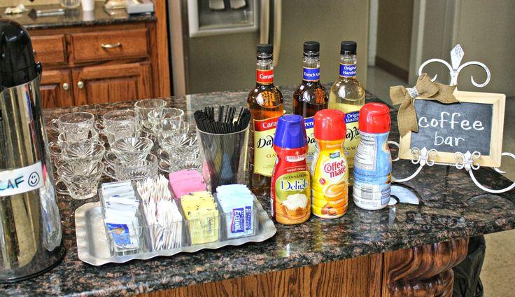church coffee bar ideas  Google Search  church decor  Pinterest  Thanksgiving Search and