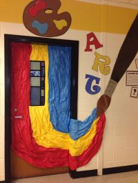 17 Best images about Art Room Door/Bulletin Board ...