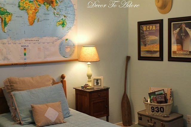 25+ best ideas about Travel themed bedrooms on Pinterest