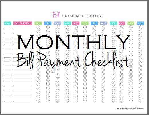 1000+ ideas about Bill Payment Organization on Pinterest