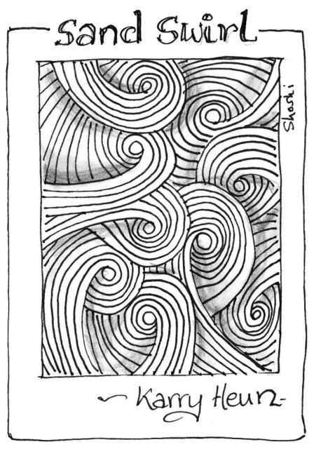 Cool Zentangle Patterns Step By Step More On My Zentangle