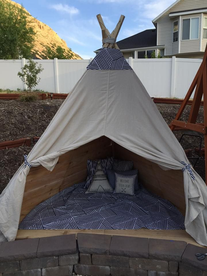 Build an Outdoor Teepee in a Day for about 150  Studios