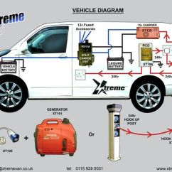 Vw T5 Trailer Wiring Diagram Ford Factory Radio Forum Split Charge Electrical Hook Up - Google Search | Interior Pinterest ...