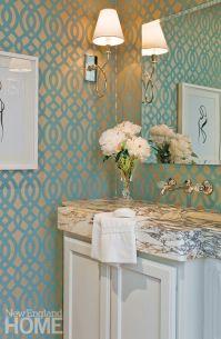 17 Best ideas about Powder Room Wallpaper on Pinterest