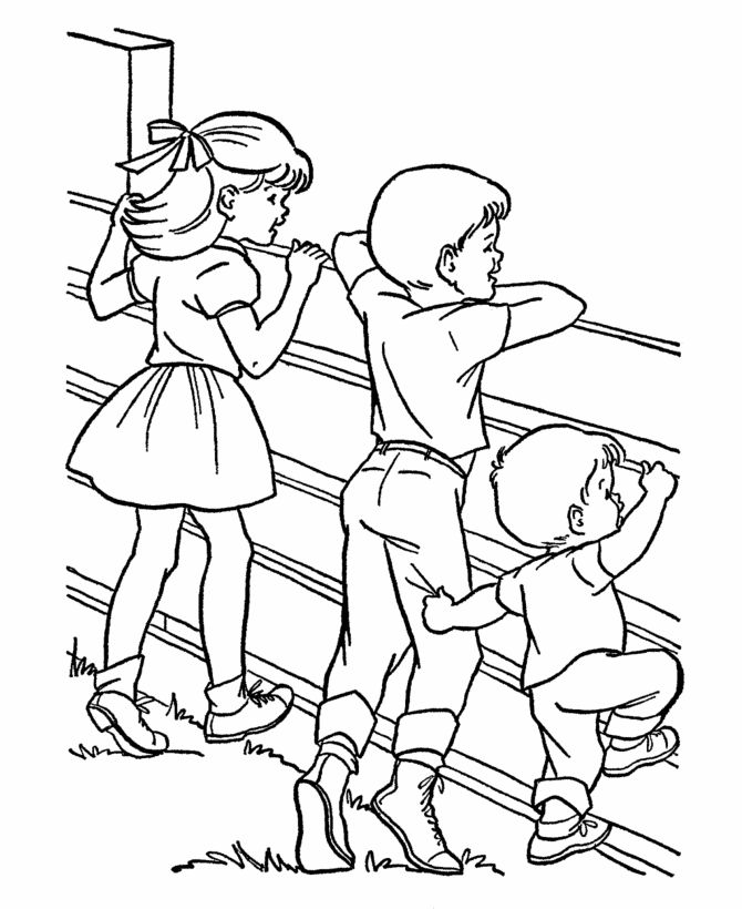 1000+ images about Western Farm coloring kids on Pinterest
