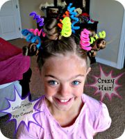 ideas crazy hair