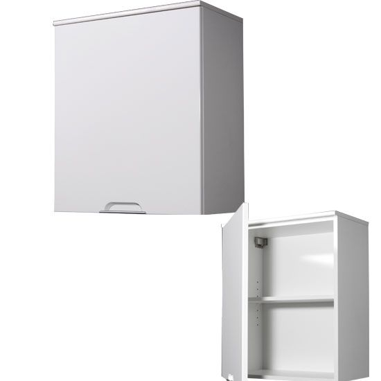 liquid white bathroom wall cabinet with high gloss front 129 95