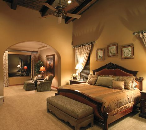 master bedroom spacious with 2 walk in closets sitting