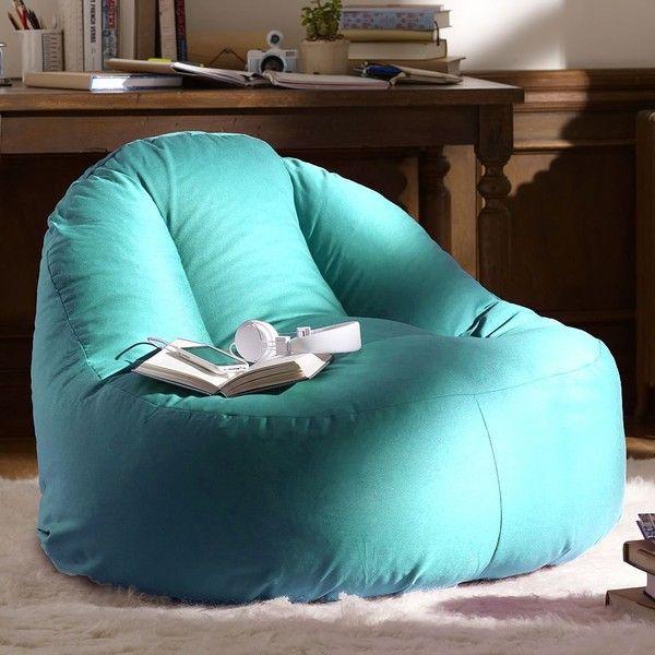 Aqua Bean Bag Chair