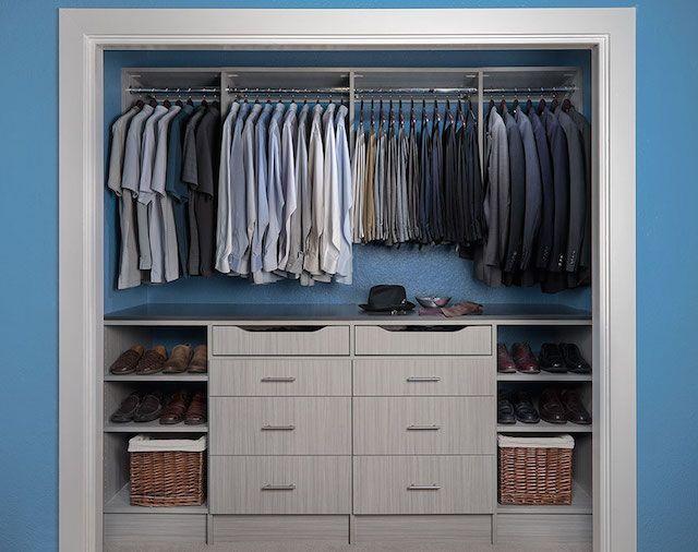 17 Best ideas about Reach In Closet on Pinterest  Closet ideas Master closet layout and