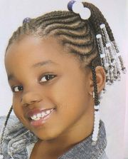 braided hairstyles little black