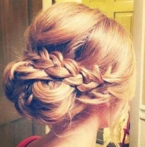 Messy Braided Updo Style - 8 Bridal Hairstyles worth trying - Get This Look