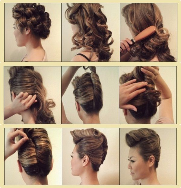 Sweet Punk Hairstyle  Tutorial Step  by Step  for Women