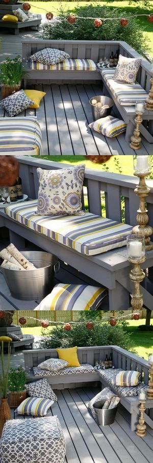If your deck is smaller in
