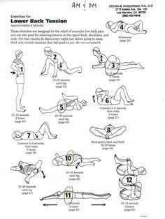26 best images about sciatica exercises on Pinterest