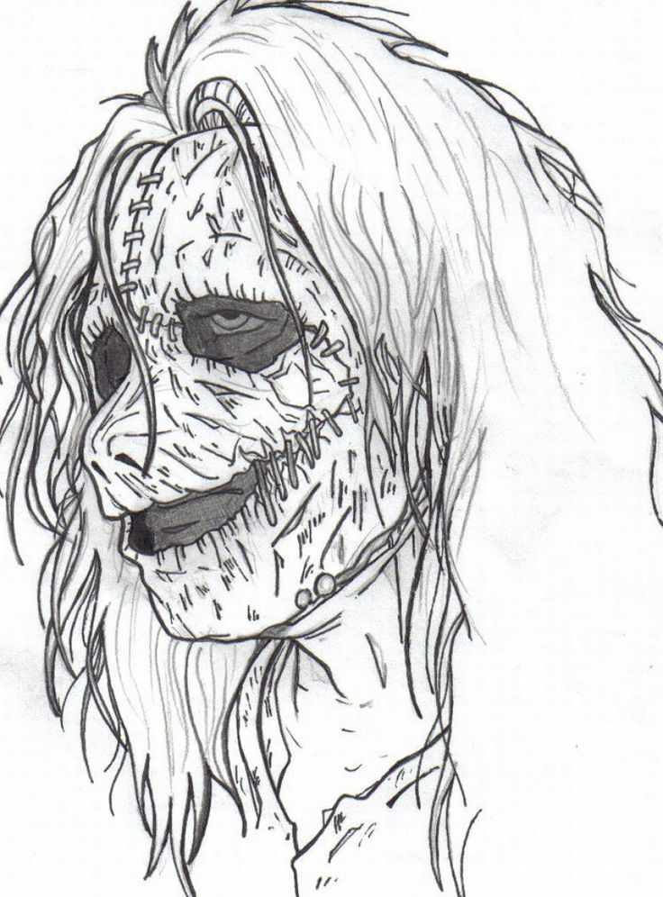 17+ images about adult horror coloring pages on Pinterest