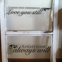 17 Best ideas about Window Pane Crafts on Pinterest | Old ...