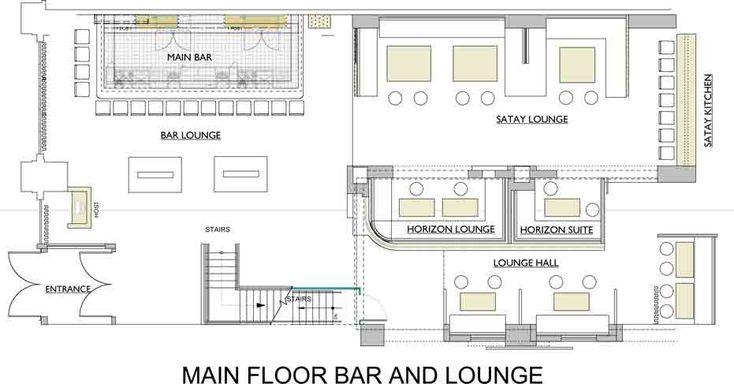 Commercial Bar Floor Plans