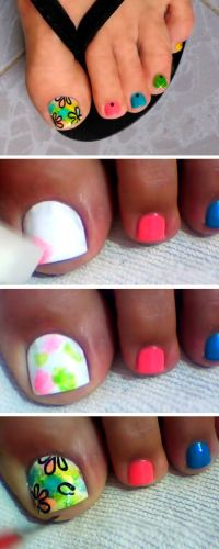 1000+ ideas about Easy Toenail Designs on Pinterest ...