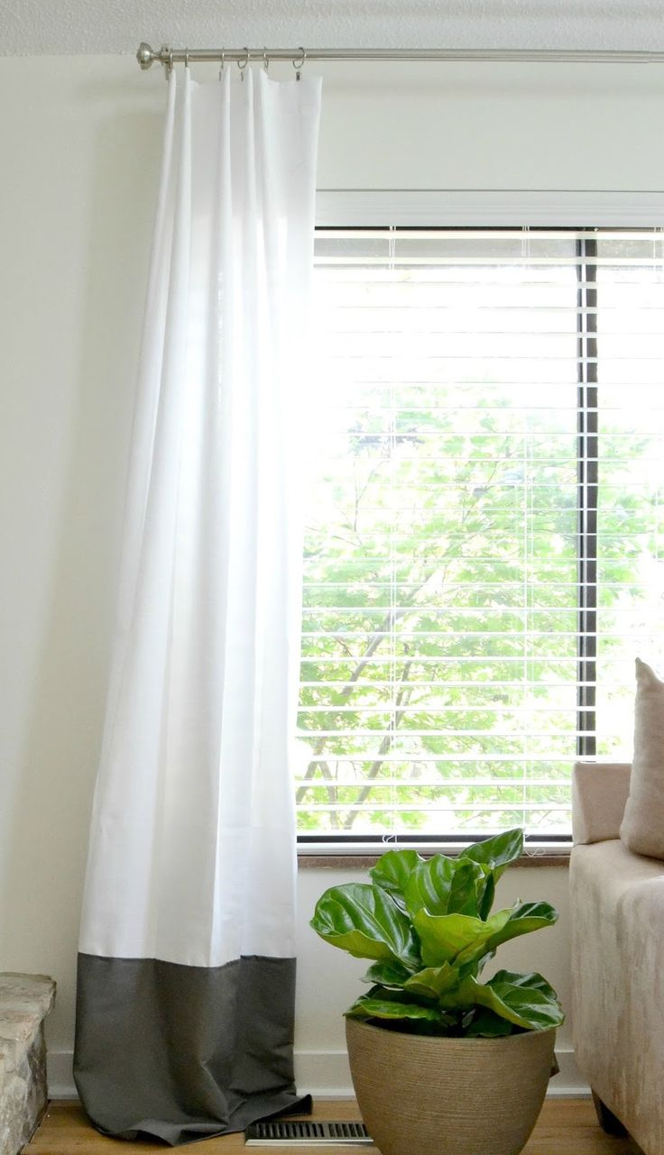 25 best ideas about Extra Long Curtains on Pinterest  Long curtains Long window curtains and
