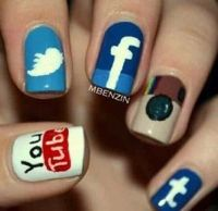Coolest nails ever!! | Nails | Pinterest | Haha and Nails