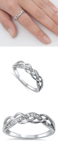 25+ best ideas about Silver Promise Rings on Pinterest ...