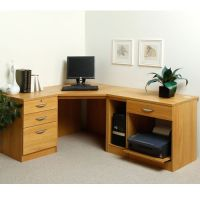 Grange Home Office Corner Desk and Printer Stand | Home ...