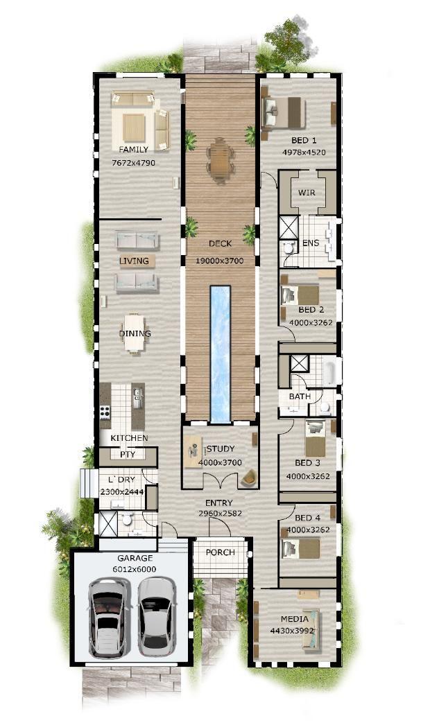 25 Best Ideas About Modern House Plans On Pinterest Modern