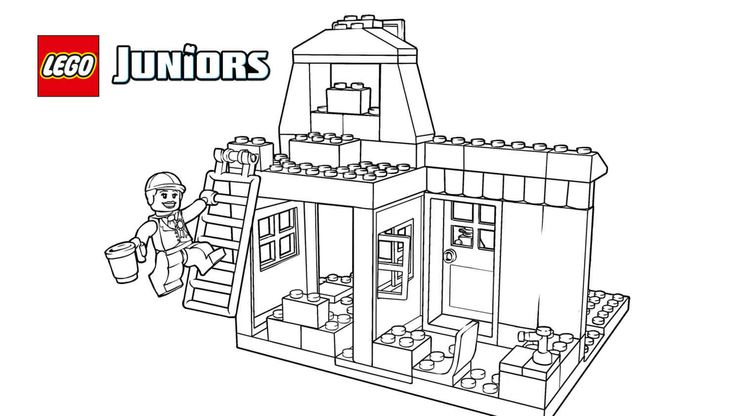 17 Best images about LEGO® Coloring Sheets on Pinterest