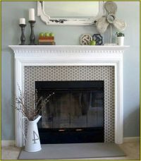 Best 20+ Glass Tile Fireplace ideas on Pinterest