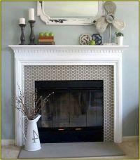 Best 20+ Glass Tile Fireplace ideas on Pinterest