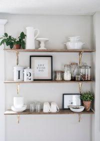 Best 25+ Kitchen shelves ideas on Pinterest | Open kitchen ...