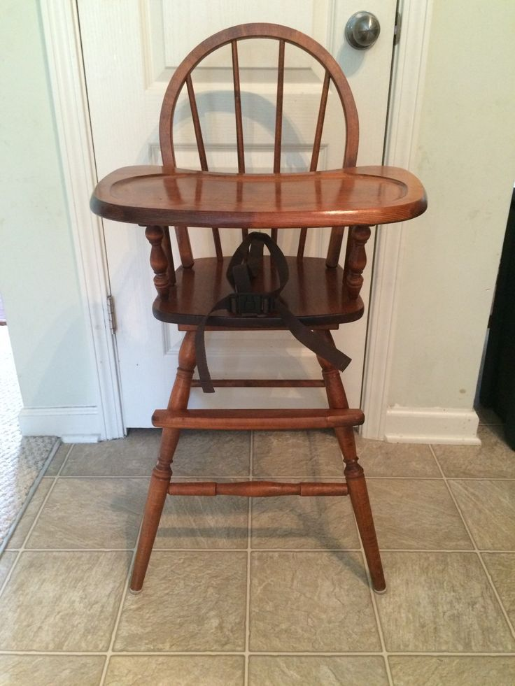 25 best ideas about Painted high chairs on Pinterest