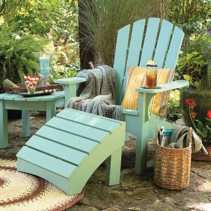 The 25 Best Ideas About Painted Outdoor Furniture On Pinterest