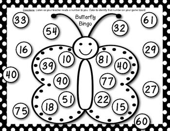Kindergarten End of the Year Math Games {Fluttering off to