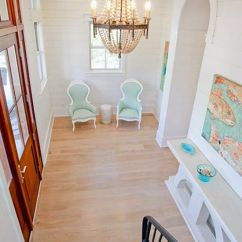 Beach Style Kitchen Table And Chairs Best Office Chair Under 500 Foyer Of A Watercolor Home   Fab Foyers Pinterest The Chandelier, Turquoise To Die For