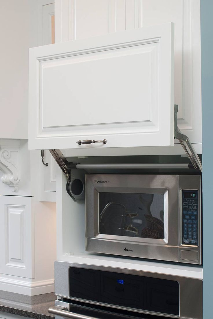 1000 ideas about Microwave Cabinet on Pinterest  Built