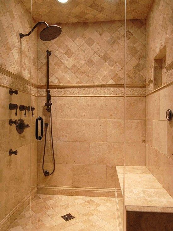 17 Best ideas about Travertine Shower on Pinterest