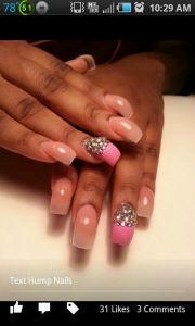 hump nail design nails
