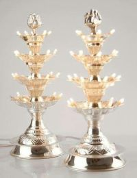 1000+ images about silver puja items on Pinterest