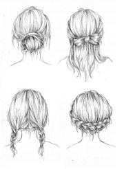 draw hair ideas