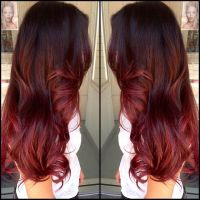 Red and brown ombre | Hair | Pinterest | Ombre, Brown and Red