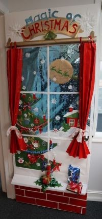 17 best Christmas dorm door contest images on Pinterest