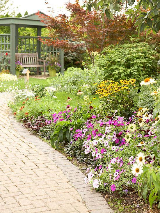 214 Best Images About Flower Garden Ideas On Pinterest Gardens