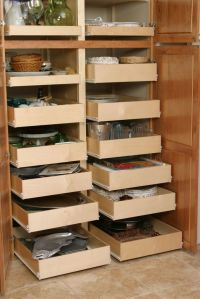 kitchen cabinet organization ideas - this is what we have ...