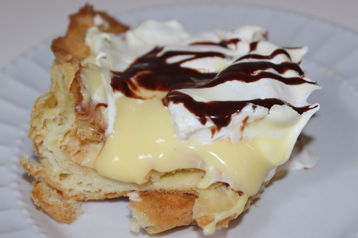 Eclair cake without graham cracker crust  Food To Make